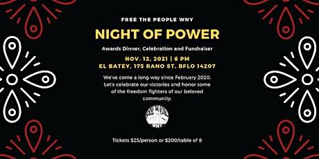 Night of Power: Awards Dinner, Celebration, and Fundraiser tickets