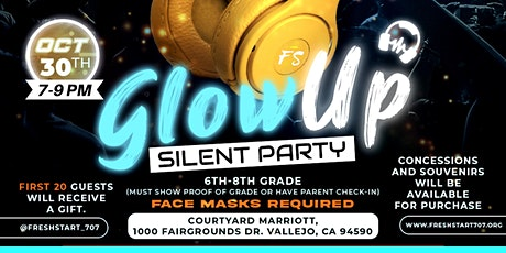 Teen Glow Up Silent Dance Party tickets