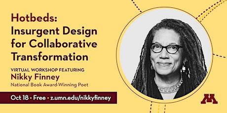 University of Minnesota Workshop Featuring Poet Nikky Finney tickets