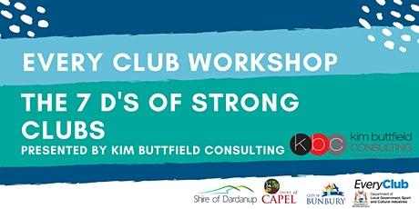 The 7 D's of Strong Clubs- EveryClub Workshop tickets