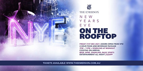 New Years Eve on The Emerson Rooftop tickets