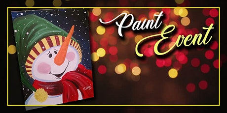 Snowman on Canvas Painting Event tickets
