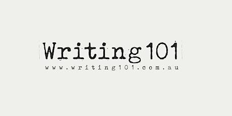 Writing 101 with Nicolas Brasch tickets