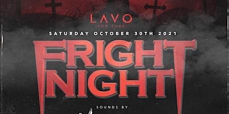 FRIGHT NIGHT @ LAVO NYC tickets