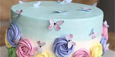 Virtual Beginner Cake Decorating Classes tickets