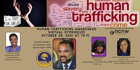 Human Trafficking Awareness Virtual Symposium tickets