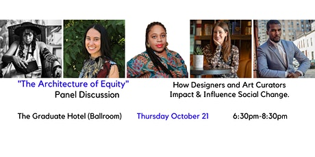 The Architecture of Equity: How Designers & Curators Impact Social Change tickets