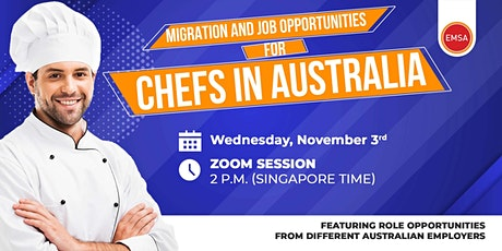 Migration and Job opportunities for Chefs in Australia tickets