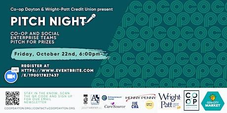 Pitch Night! A Celebration of Cooperative & Community Enterprise tickets