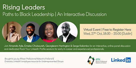 Rising Leaders: Paths to Black Leadership tickets