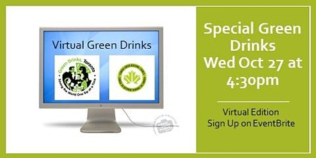 Special Green Drinks at Building Lasting Change Conference tickets