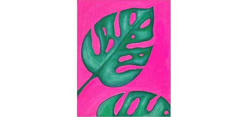 'Monstera Leaves' Painting Class tickets