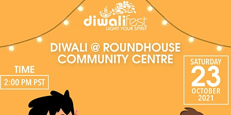 Diwali @ Roundhouse Community Centre tickets