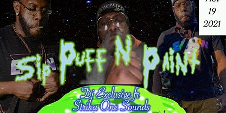 Dj Exclusive sip puff n paint bday party tickets