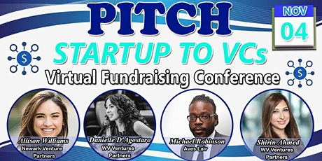Pitch Startup To VC's Panel & Get Feedback - Virtual Fundraising Conference tickets