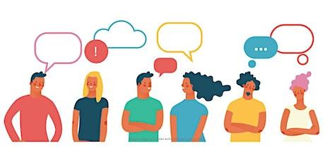 English Conversation Group (online) tickets