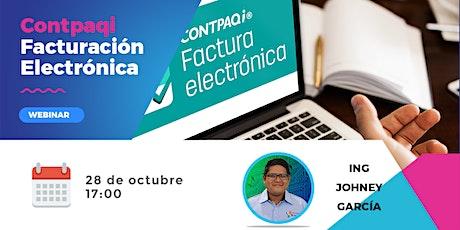 Contpaqi Facturación Electrónica boletos
