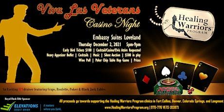 Viva Las Veterans Casino Night tickets
