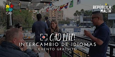 CADlive! Intercambio de Idiomas tickets