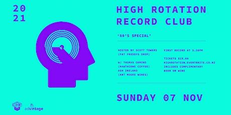 High Rotation Record Club 004 tickets