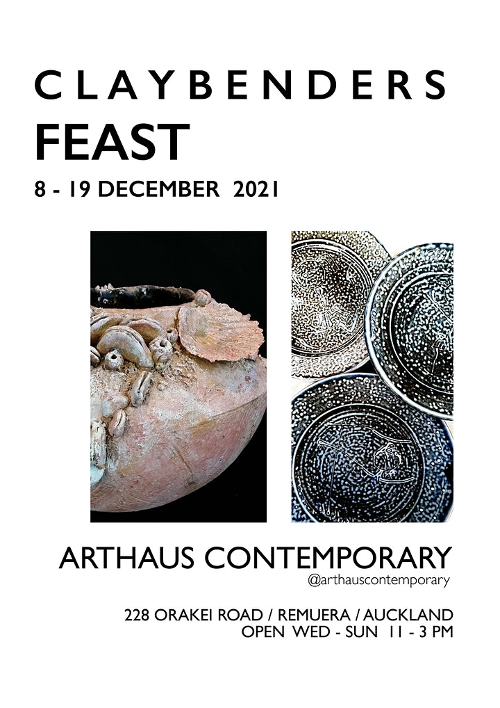 FEAST | Claybenders Ceramic Exhibition image