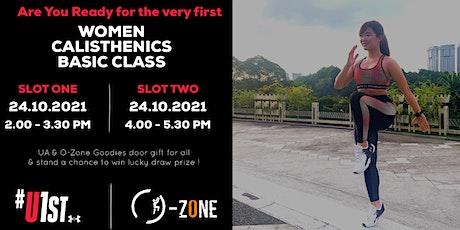 Under Armour x O-Zone Women Calisthenics Class tickets