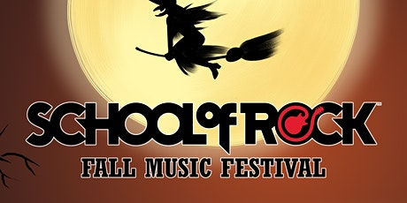 School Of Rock Miami Fall Music Festival tickets