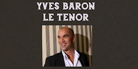 YVES BARON LE TENOR FROM OPERA TO JAZZ tickets
