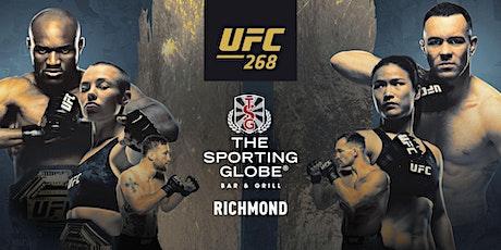 UFC 268 - The Sporting Globe Richmond tickets