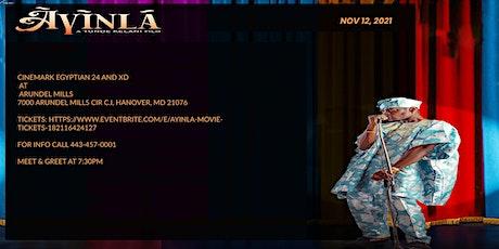 Ayinla: The Movie tickets