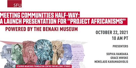 """Meeting Communities Half-Way: Launch Presentation for """"Project Africanisms"""" tickets"""