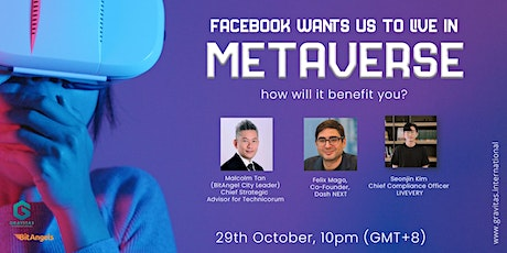 Facebook wants us to LIVE in Metaverse, how will it benefit you? Tickets