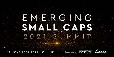 Emerging Small Caps Summit tickets