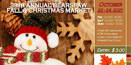39th Annual Bearspaw Fall and Christmas Market tickets