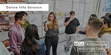 UCLA Architecture and Urban design -  OPEN-HOUSE (info session) biglietti
