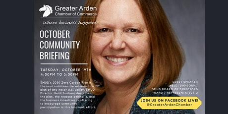 Community Briefing with Heidi Sanborn tickets