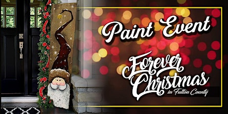 Forever Christmas  Santa Welcome Paint Event @ Needle in the Haystack, LLC tickets