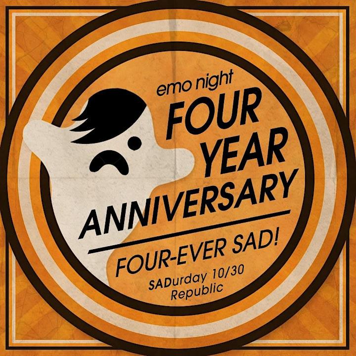 Emo Night 4-Year Anniversary image