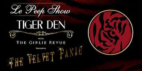 Le Peep Show:  THE VELVET PANIC tickets