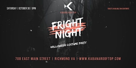 Fright Night at Kabana Rooftop tickets