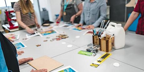 Creative Collab: 3D Printer tickets