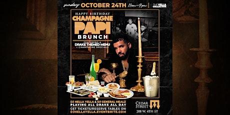 Happy Birthday Champagne Papi Brunch tickets
