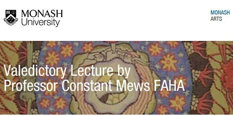 Valedictory Lecture by Professor Constant Mews tickets