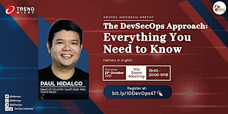 The DevSecOps Approach : Everything You Need to Know tickets