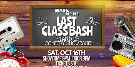Last Class Bash - Comedy Showcase tickets