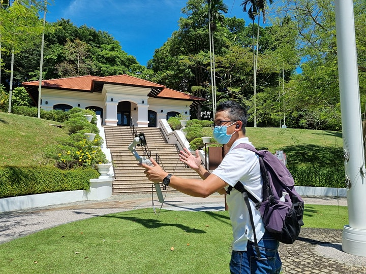 Singapore Maritime Trail 1 - Fort Canning Hill (Virtual Tour Version) image