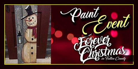Forever Christmas Snowman Welcome Paint Event @ Needle in the Haystack, LLC tickets
