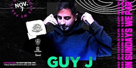 Guy J  //  #OnSundaysWeParty // 11.07.21 boletos