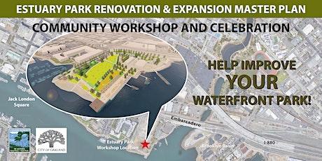Estuary Park Site Community Workshop and Celebration tickets