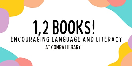Cowra Library 1, 2 BOOKS! tickets